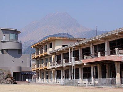 旧大野木場小学校被災校舎(南島原市)
