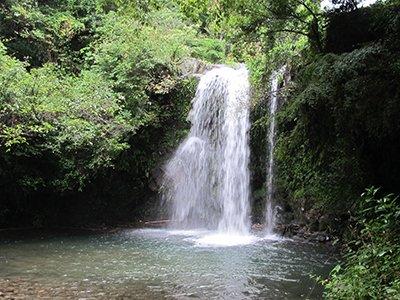 鮎帰りの滝(南島原市)