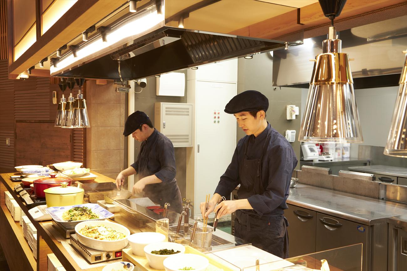 雲仙みかどホテルの新名物「ライブキッチン」