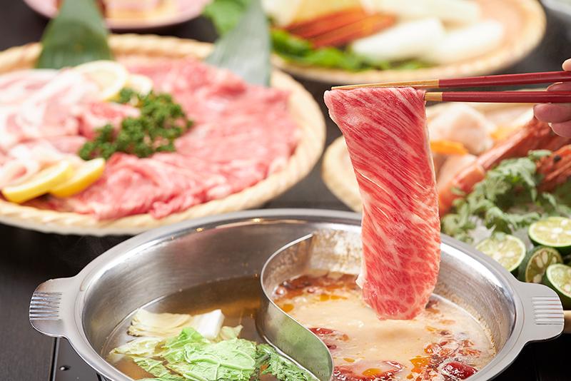 長崎・島原の郷土料理を活かした2種類の鍋料理