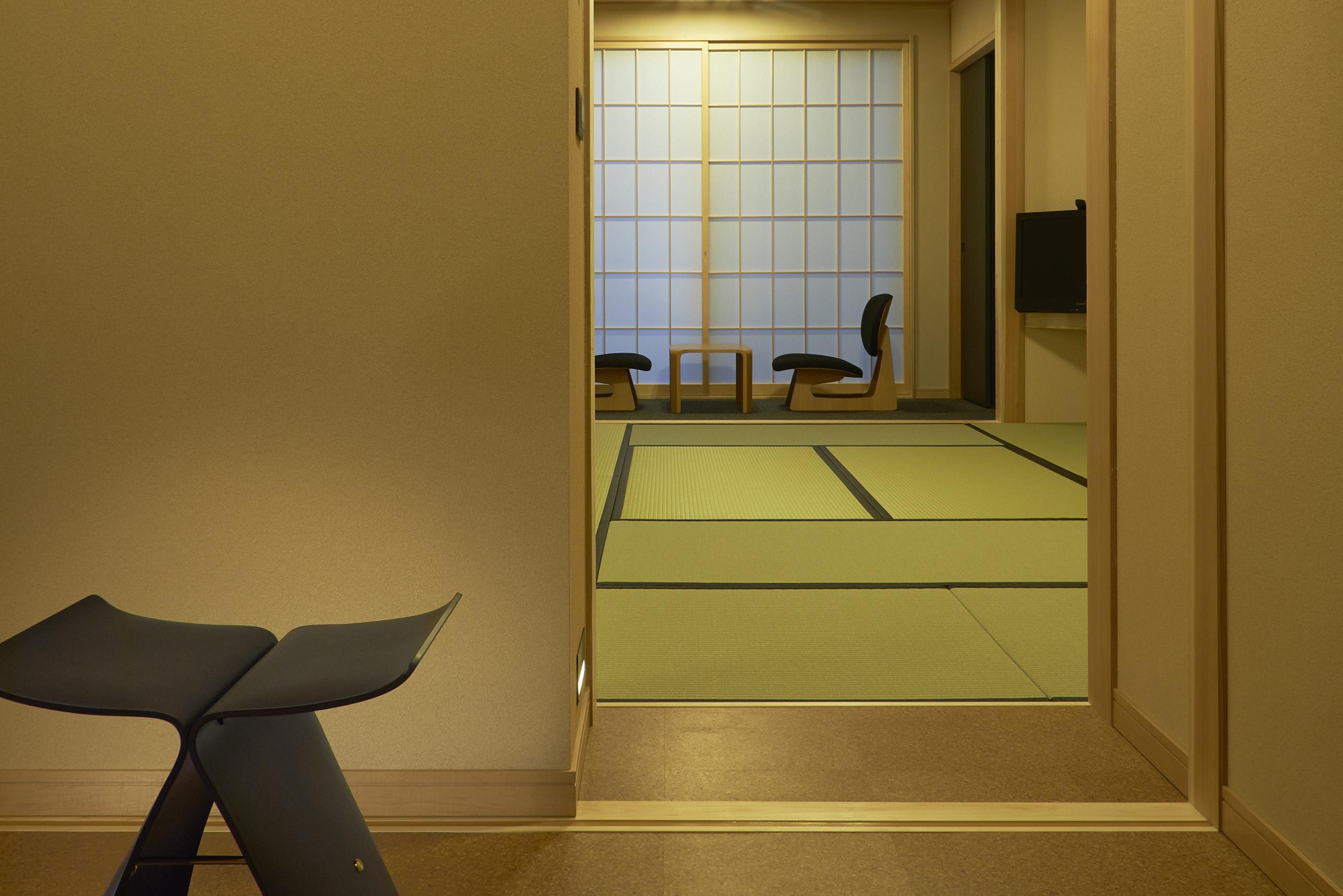 伝統的な趣深い「和室」