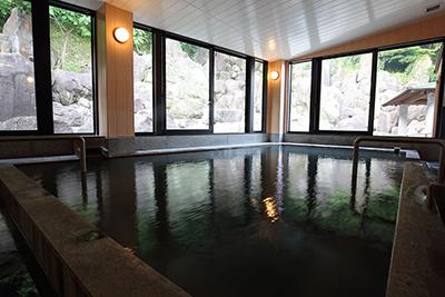 癒される天然温泉入浴