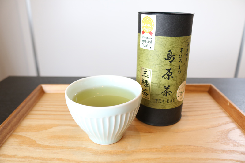 特典3:まぼろしの島原茶プレゼント
